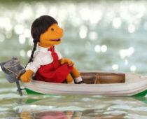 Little Girl in boat, Indo w bg copy